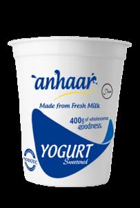 Sweetened Yogurt